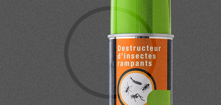 Destructeur d'insectes rampants